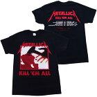メタリカ・METALLICA・KILLEMALLTRACKS・Tシャツ・メタルTシャツ