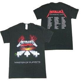 METALLICA メタリカ MASTER OF PUPPETS EUROPEAN TOUR 1986 Tシャツ オフィシャル ロックTシャツ バンドTシャツ【RCP】【コンビニ受取対応商品】