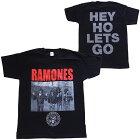 RAMONES・ラモーンズ・CAGEPHOTO・Tシャツ・バンドTシャツ