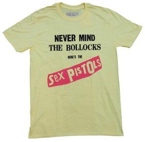 SEX PISTOLS・セックス ピストルズ・NEVER MIND THE BOLLOCKS ORIGINAL ALBUM・Tシャツ・オフィシャル バンドTシャツ