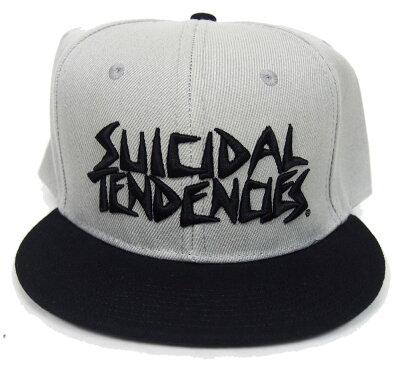 SUICIDALTENDENCIES・スーサイダルテンデンシーズ・フル刺繍・カスタム・スナップバック・オフィシャルベースボールキャップ