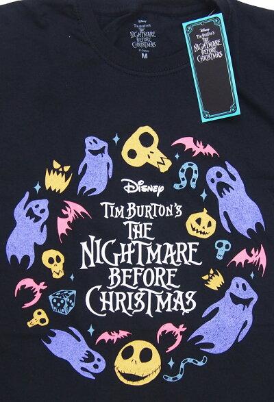 NIGHTMAREBEFORECHRISTMAS・ナイトメアビフォアクリスマス・CHARACTERFLIGHT・Tシャツ・映画TシャツオフィシャルTシャツ