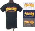 【THRASHER】FLAME・LOGO・Tシャツ・スラッシャー・フレームロゴ・正規品