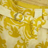 << 10%off >> MACPHEE McAfee skirt (damask pattern) yellow brand old clothes DB k in the spring and summer