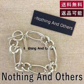 【中古】ナッシングアンドアザーズ Nothing And Others ブレスレット Mutually Bracelet シルバー合金 2020年商品 ワンサイズ E0507P003-E00518
