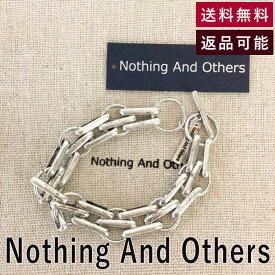 【中古】ナッシングアンドアザーズ Nothing And Others ブレスレット Close Chain Bracelet シルバー合金 2020年商品 ワンサイズ E0507P005-E00518
