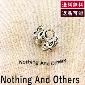 【中古】ナッシング アンド アザーズ Nothing And Others 多円リング シルバー 指輪 フリーサイズ E0507P001-E0519