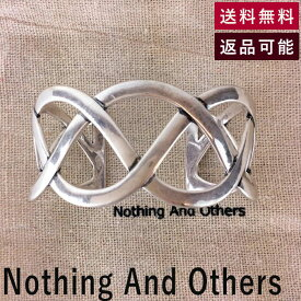 【中古】ナッシング アンド アザーズ Nothing And Others バングル New Wave Bangle シルバー ブレスレット フリーサイズ E0507P006-E0519
