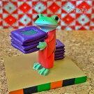 新作コポー笑点座布団運びcopeauコポーシリーズコポタロウコポたんかえるカエル雑貨置き物オブジェフィギュア置物小物ガーデンミニチュアDRAWERPLUSドロワープラスどろわーぷらすダイカイ【72507】
