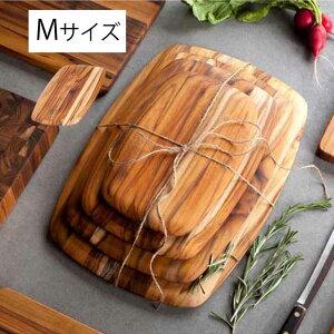 まな板 カッティングボード 木製 チークハウス ラウンデッドM 天然木 サービングボード チーク材 耐久性 シンプル おしゃれ 北欧 キッチン用品 キッチン雑貨 【115001】