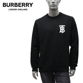 【2020-21AW】バーバリー DRYDEN モノグラムモチーフ TBロゴ トレーナー【BLACK】8024602 BLACK/BURBERRY/m-tops