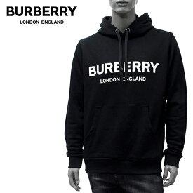 【2020SS】バーバリー LEXSTONE ロゴプリント プルオーバーパーカー【BLACK】8009509 BLACK/BURBERRY/m-tops