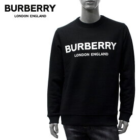 【2020SS】バーバリー LANSLOW ロゴプリント スウェット トレーナー【BLACK】8011357 BLACK/BURBERRY/m-tops