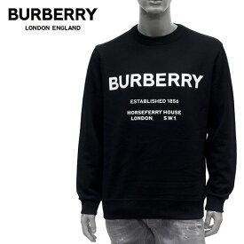 【2019-20AW】バーバリー MARTLEY ロゴプリント スウェット トレーナー【BLACK】8017228 BLACK/BURBERRY/m-tops