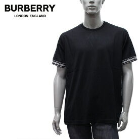 【2020-21AW】バーバリー TESLOW ロゴテープ オーバーサイズTシャツ【BLACK】8026224 BLACK/BURBERRY/m-tops