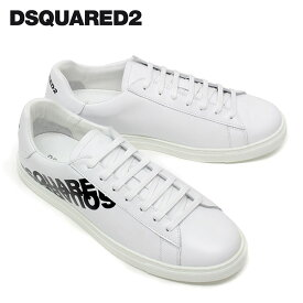 【2020SS】ディースクエアード ロゴプリント スニーカー【ホワイト】SNM0005 01501675 M072/DSQUARED2/m-shoes