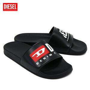 ディーゼル DIESEL SA-MAYEMI P ロゴプリント スライド/シャワーサンダル【ブラック】Y02651 P3981 T8013/【2021SS】m-shoes