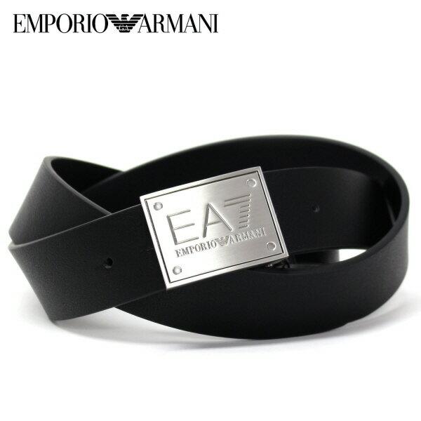 【スーパーセール】エンポリオ・アルマーニ『EA7』 ロゴバックル ベルト【ブラック】275524 7A693 23820/EMPORIO ARMANI/goods