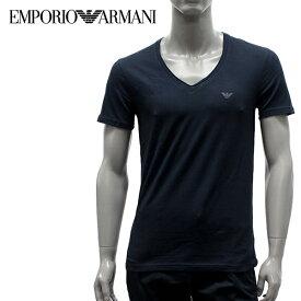 【2019SS】エンポリオ・アルマーニ UNDERWEARライン ストレッチコットンTシャツ【ネイビーブルー】111767 9P510 00135/EMPORIO ARMANI/m-tops