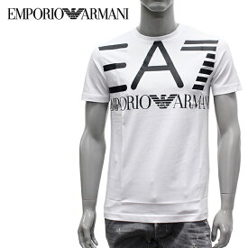 9c0b959a8 【2019SS】エンポリオ・アルマーニ EA7 フロントEA7プリント 半袖Tシャツ【ホワイト】