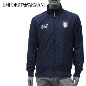【2019-20AW】エンポリオ・アルマーニ EA7 イタリア代表公認モデル ナイロンブルゾン【ネイビーブルー】6GPB73 PC02Z 1554/EMPORIO ARMANI/m-outer