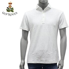 【2019SS】ギ・ローバー パイル地 ポロシャツ【ホワイト】PC208 591501 01/GUY ROVER/m-tops