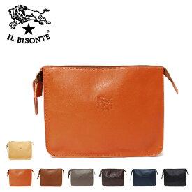 イルビゾンテ IL BISONTE レザークラッチバッグA0024 P /【2021SS】l-bag