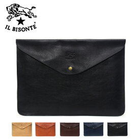 イルビゾンテ レザークラッチバッグA0631 P /IL BISONTE/m-bag