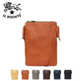 イルビゾンテ ポーチ・サコッシュタイプ レザーショルダーバッグA2871 EP /IL BISONTE/m-bag