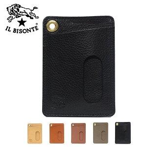 イルビゾンテ レザーカードケース 定期入れC0786 P /IL BISONTE/goods