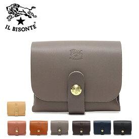 イルビゾンテ レザーミニポーチ 小物入れC0848 P /IL BISONTE/m-bag
