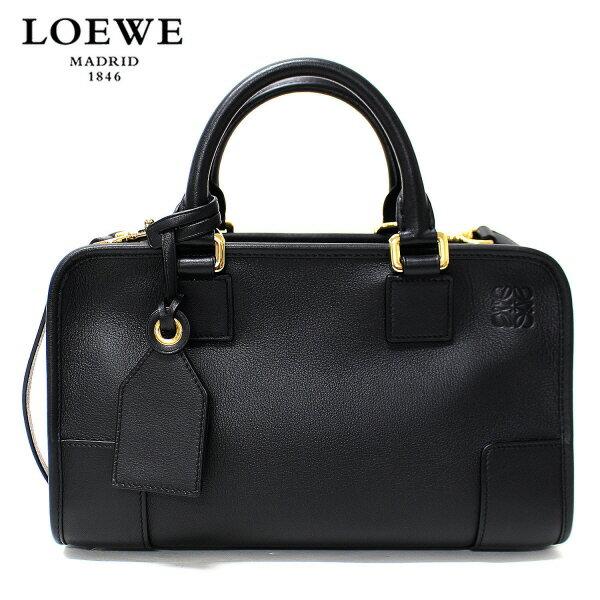 【ファイナル スペシャルセール】【2017-18AW】ロエベ『AMAZONA28』 2WAYバッグ【ブラック(×ゴールド)】35230N03 1206/LOEWE/l-bag