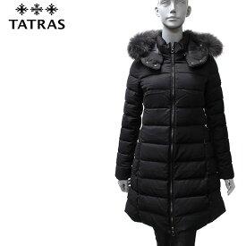 【2019-20AW】タトラス LAVIANA フードファー付 ウールダウンコート【BLACK】LTA20A4571 BLACK/TATRAS/l-outer