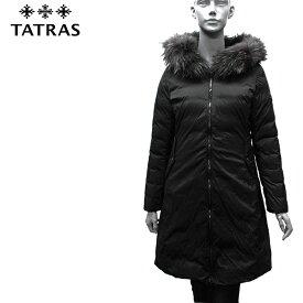 【2019-20AW】タトラス ISERA フードファー付 リバーシブルダウンコート【BLACK】LTA20A4706 BLACK/TATRAS/l-outer