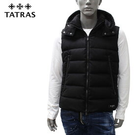 【2019-20AW】タトラス SOVER bottoウール ダウンベスト【BLACK】MTA20A4373 BLACK/TATRAS/m-tops