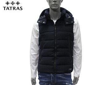 【2019-20AW】タトラス SOVER bottoウール ダウンベスト【D.NAVY】MTA20A4373 D.NAVY/TATRAS/m-tops