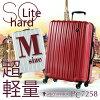 캐리어 캬 리 케이스나 원 좋은 캬 리 가방 PC7258 M사이즈 중형 사이즈 4~7 일용에 최적 여행이나 번패스너 지퍼 하드 케이스 GRIFFIN LAND(그리핀 랜드)
