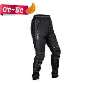 サイクルパンツ 冬 サイクリングパンツ 裏起毛 自転車パンツ じてんしゃ 秋 男性用 防風 防寒 ブラック