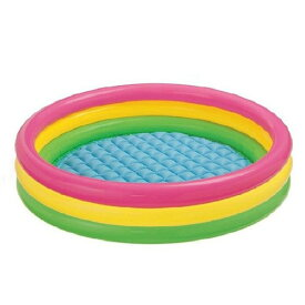 プール 家庭用プール 147cm 子供用プール カラフル 水浴び