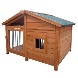 犬小屋 大型犬 中型犬 屋外 木製 サークル ペットハウス サークル犬舎 ウッディ犬舎 ドックハウス