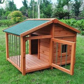 犬小屋 大型犬 木製 サークル ペットハウス サークル犬舎 ウッディ犬舎 ドッグハウス ドックハウス