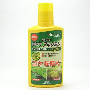 テトラ アルジミン クリア 250ml 【アルジミン・コケ防止】