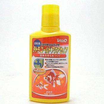 テトラ ゴールドアクアセイフ 金魚用 250ml 【金魚専用・ゴールド アクアセイフ】