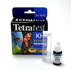 アクアリウム水槽水質管理テトラテスト炭酸塩硬度試薬KH(淡水・海水兼用)