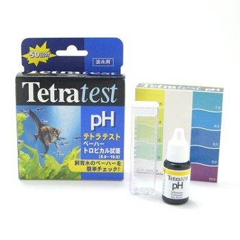 送料無料 レターパック発送 テトラ テスト pHトロピカル試薬(淡水用) 同梱・代引・日時指定不可