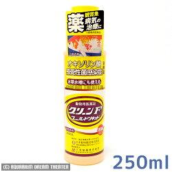 熱帯魚・観賞魚用病魚薬ニチドウグリーンFゴールドリキッド250ml