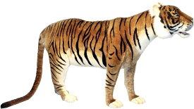 アニマルビッグフィギュアHANSAぬいぐるみ タイガー(トラ)・スタンディング ビッグA(全長:185cm)】(等身大フィギュア)