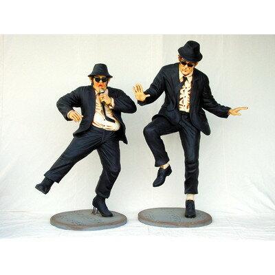 ブルースブラザーズ・ダンシング 等身大サイズ 【2体セット】