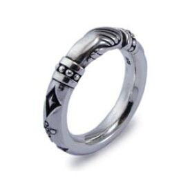 メーカー取り寄せ品/FR-007F-BZ シェイクハンドユニセックスシルバーリング/指輪/AQUA FORTIS/アクアフォルティス