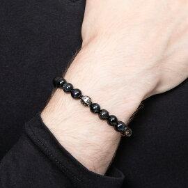 トレサリーブルータイガーアイ数珠ブレス/ArtemisClassic/アルテミスクラシック